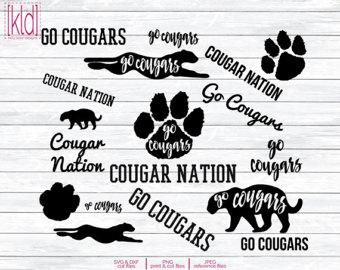 Cougar svg #20, Download drawings