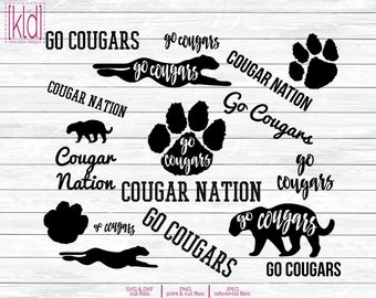 Cougar svg #263, Download drawings