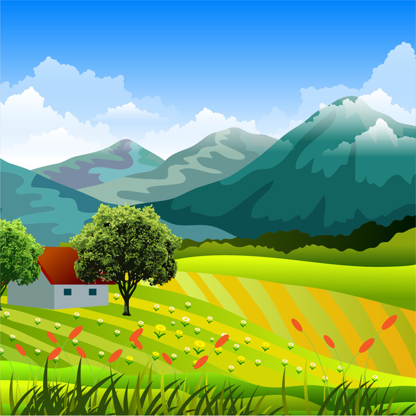 Countryside clipart #10, Download drawings