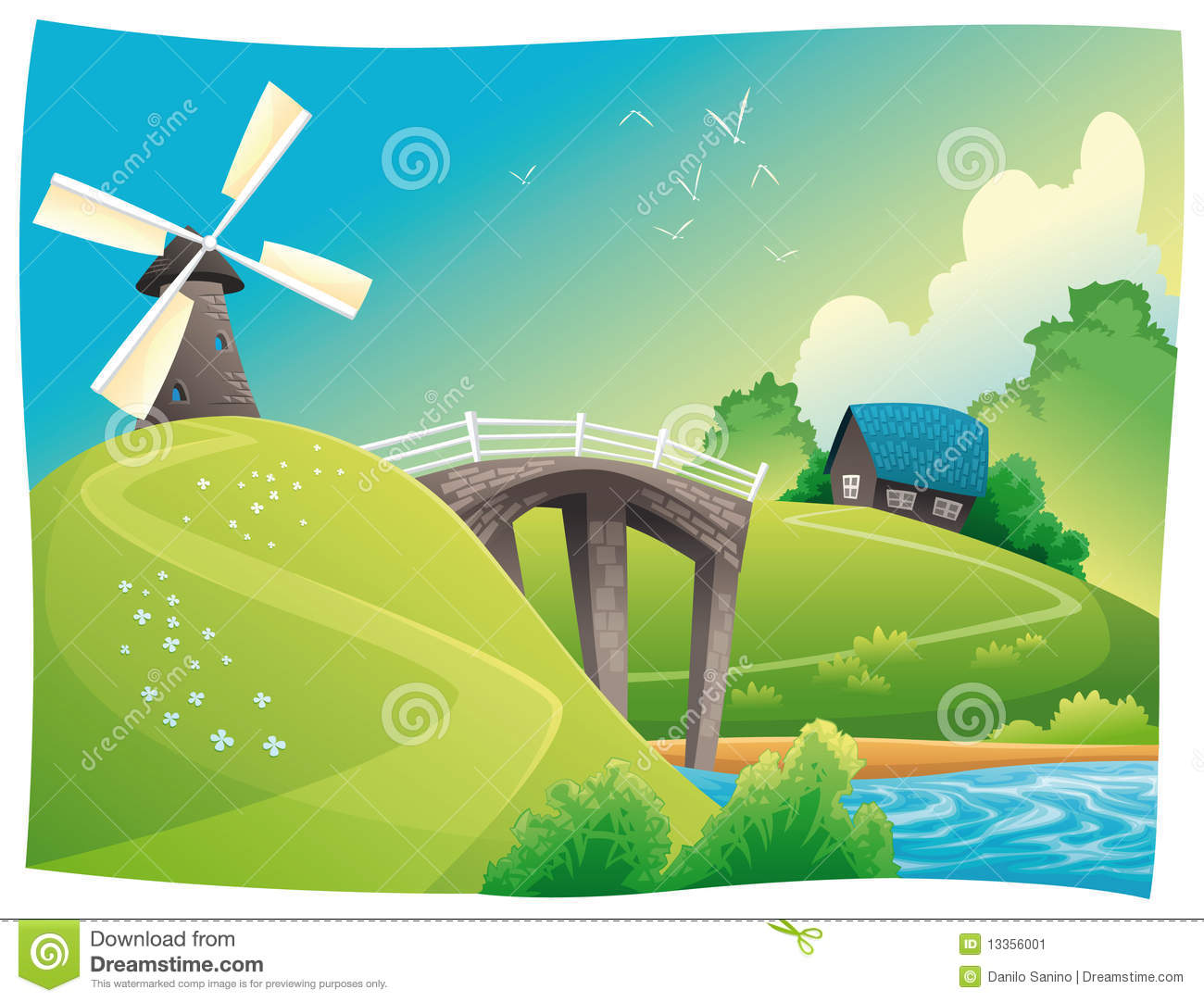 Countryside clipart #18, Download drawings