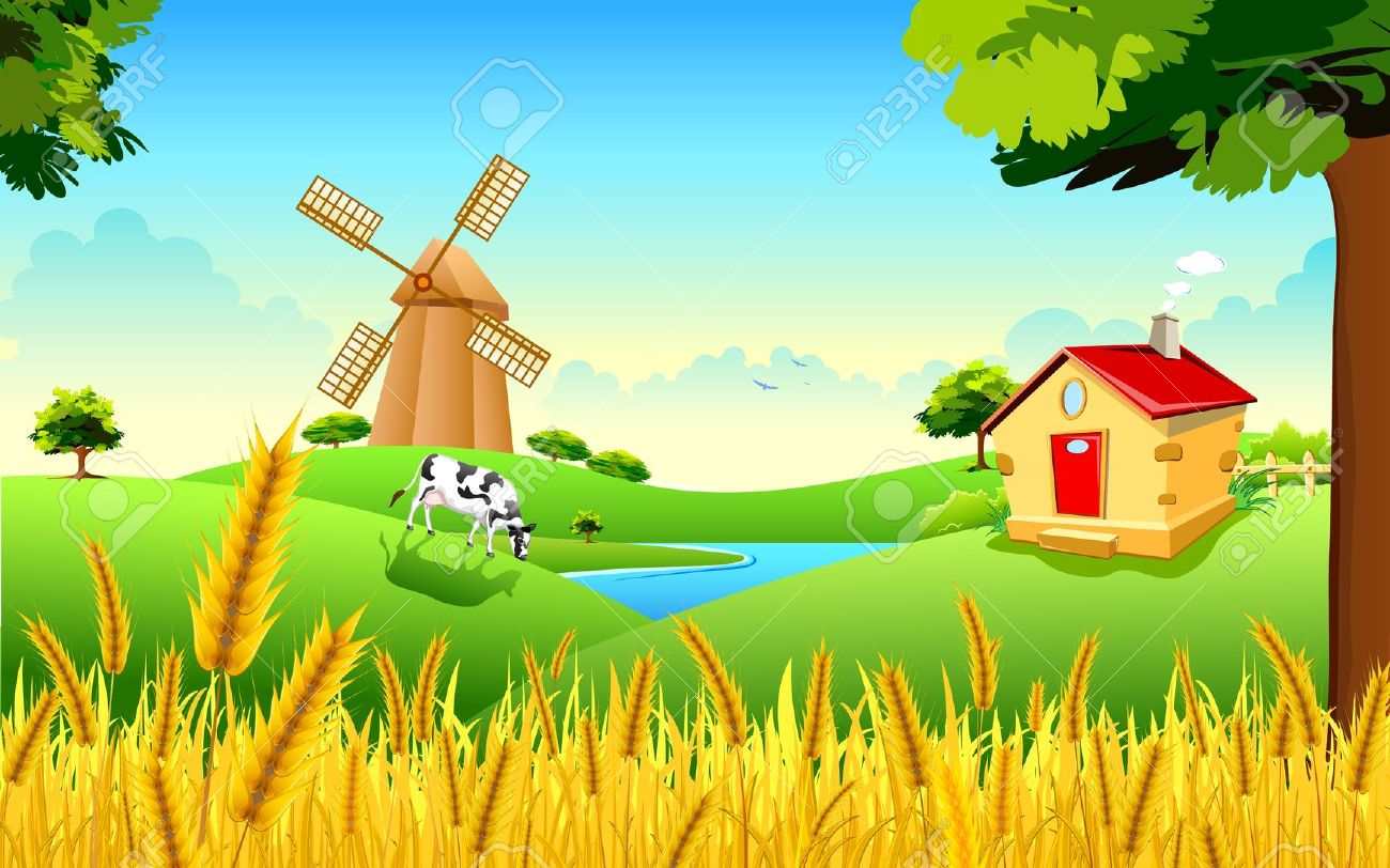 Countryside clipart #1, Download drawings