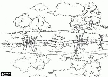 Countryside coloring #15, Download drawings