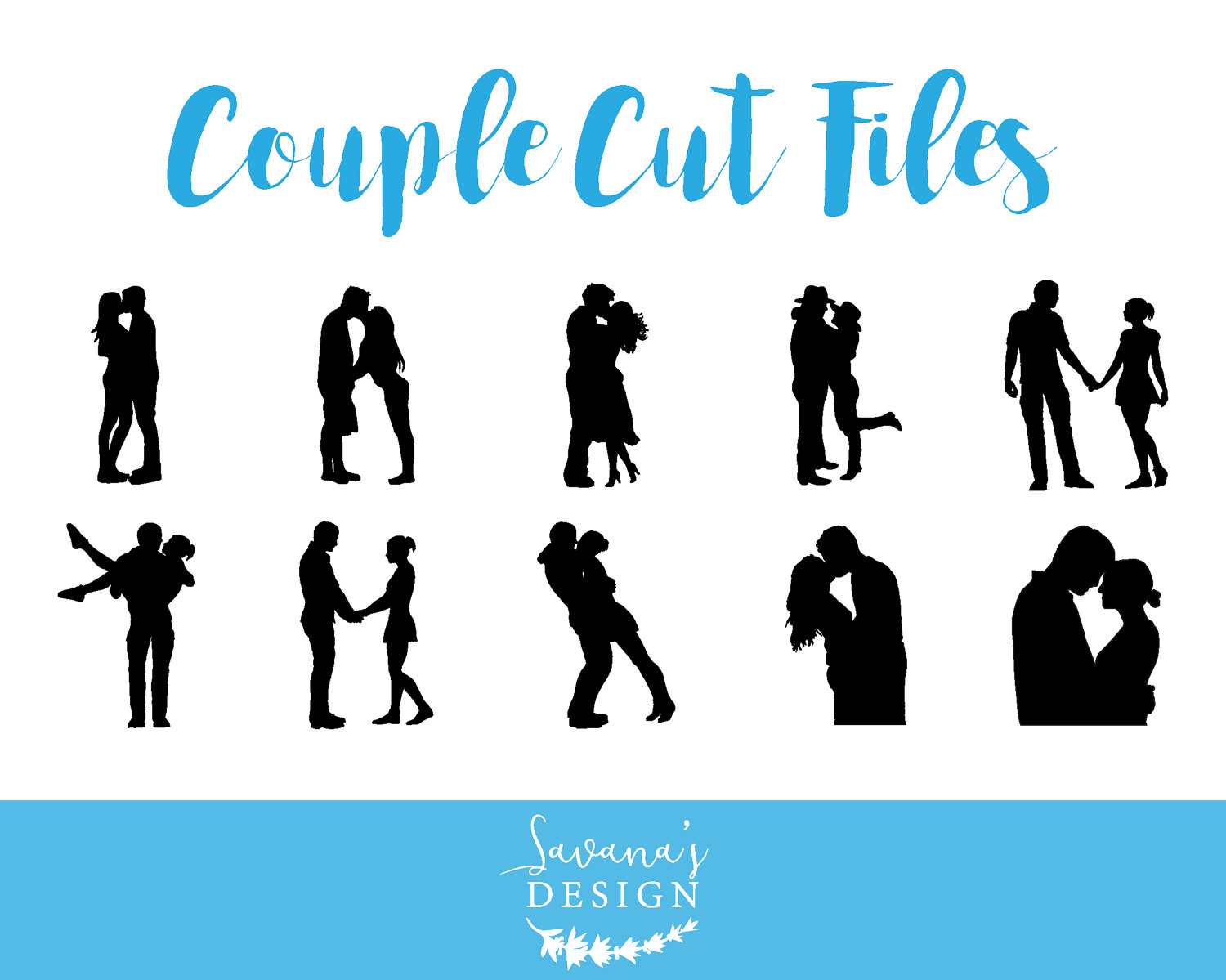 Couple svg #8, Download drawings