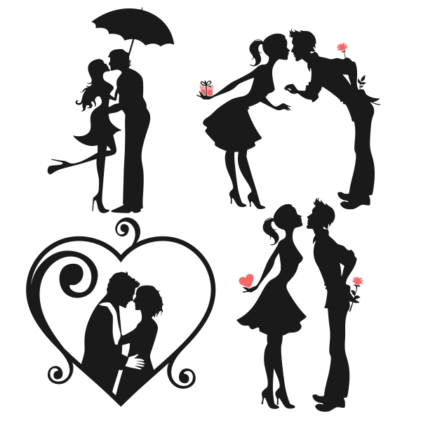 Couple svg #18, Download drawings
