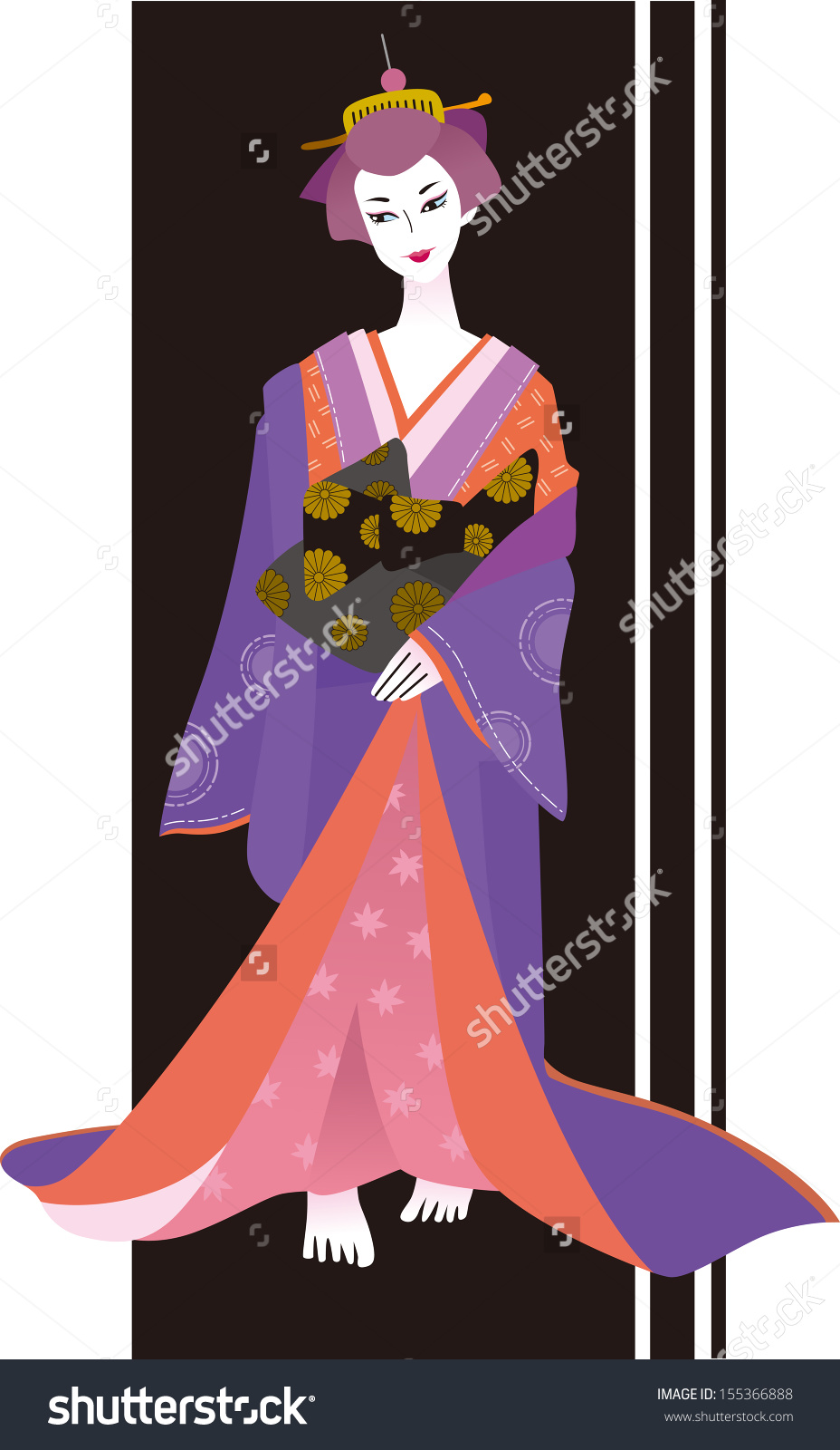 Courtesan clipart #1, Download drawings