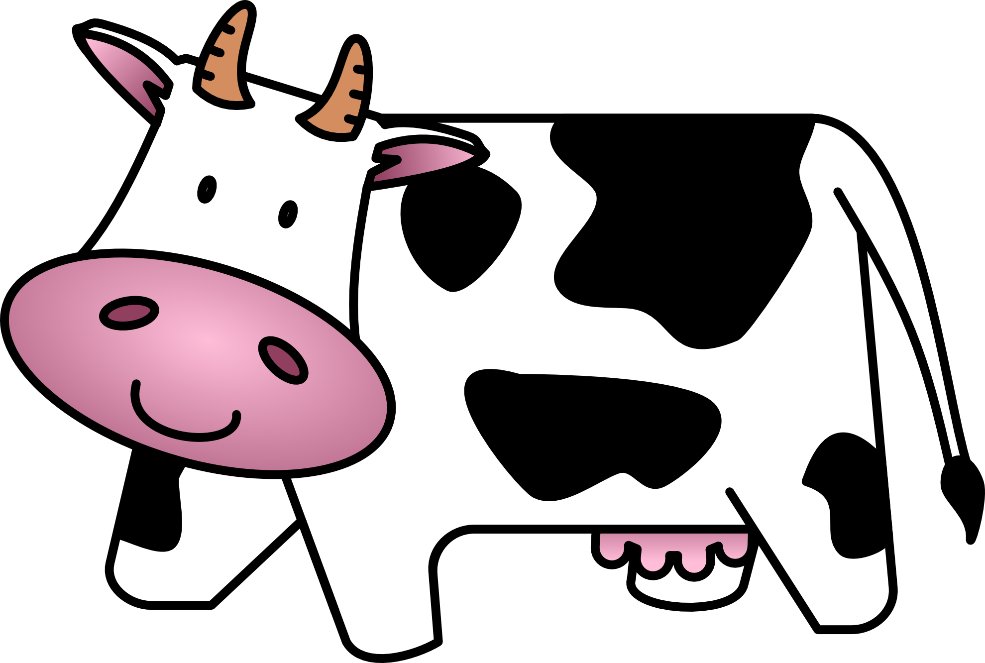 Cow clipart #10, Download drawings