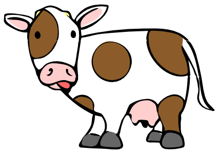 Cow clipart #3, Download drawings
