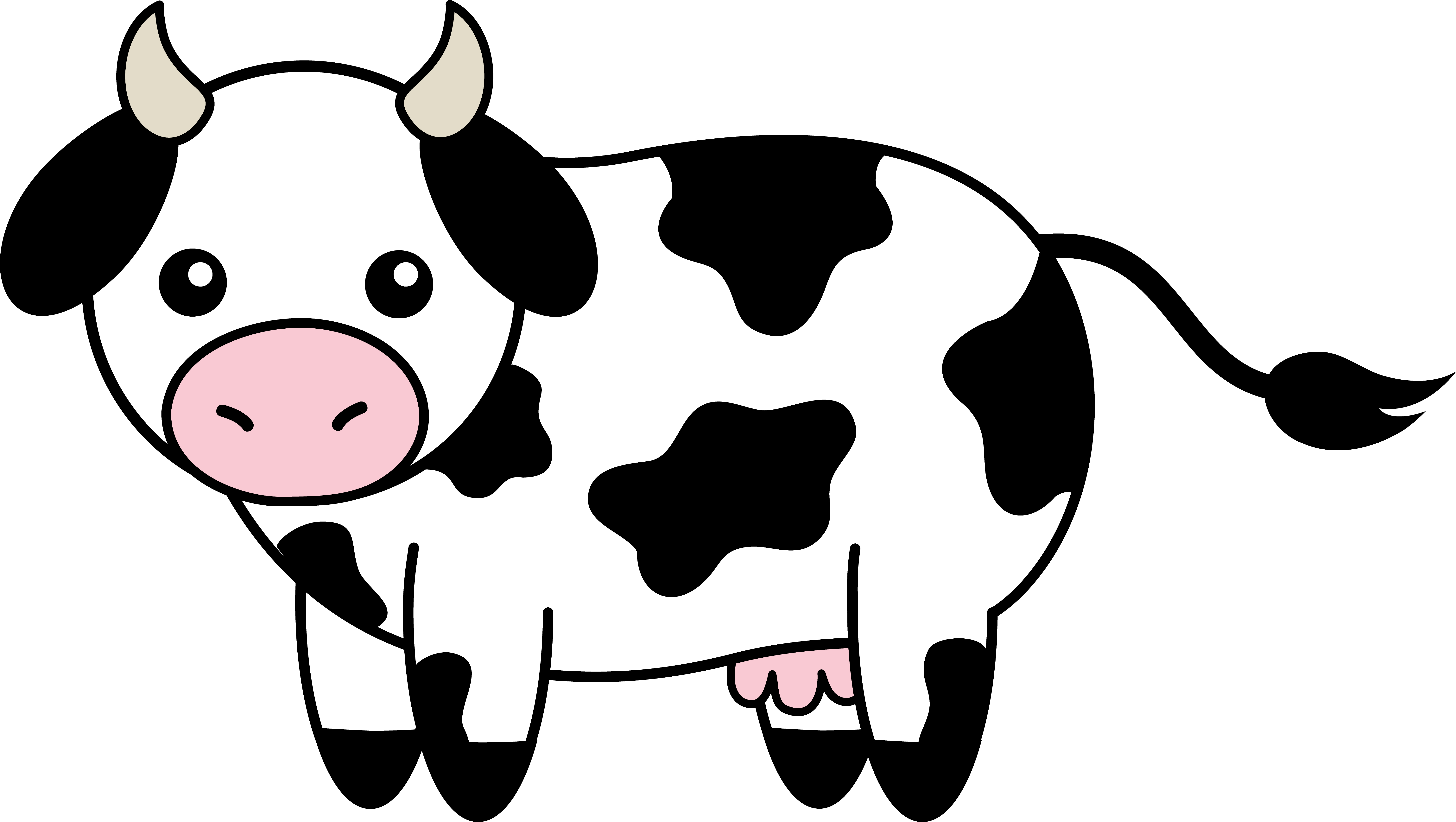 Cow clipart #1, Download drawings