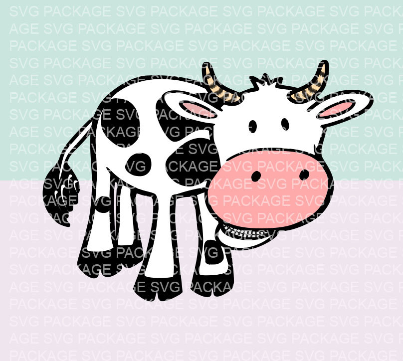 Cow svg #2, Download drawings