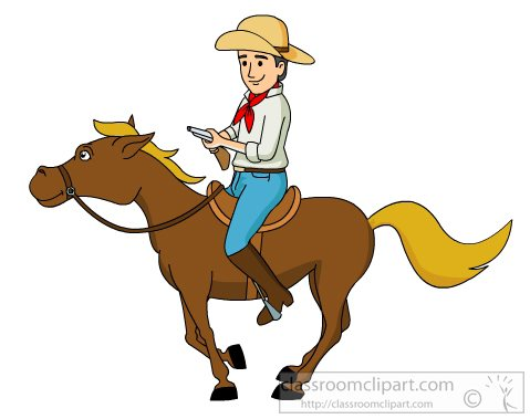 Cowboy clipart #2, Download drawings