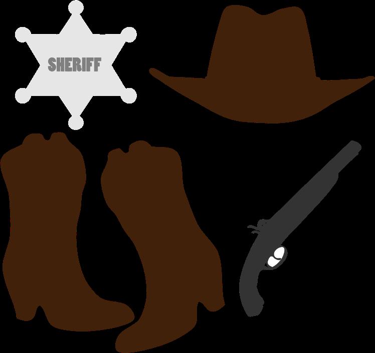 Cowboy svg #2, Download drawings