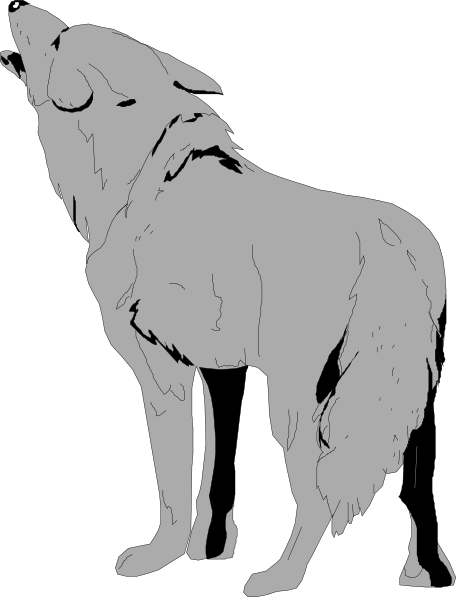 Coyote clipart #2, Download drawings