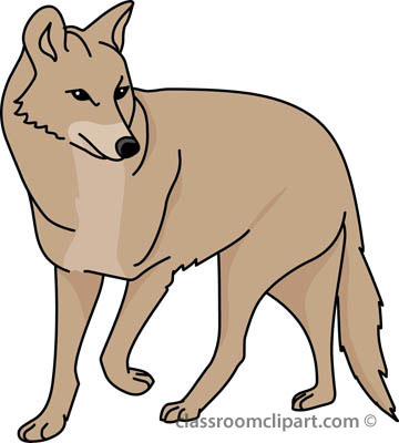 Coyote clipart #20, Download drawings