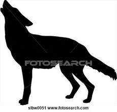 Coyote clipart #3, Download drawings