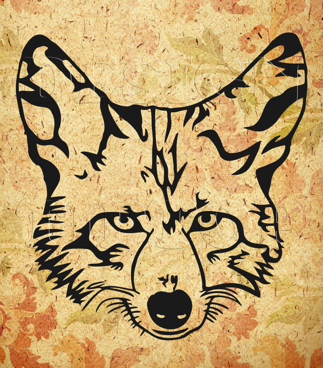 Coyote svg #1, Download drawings
