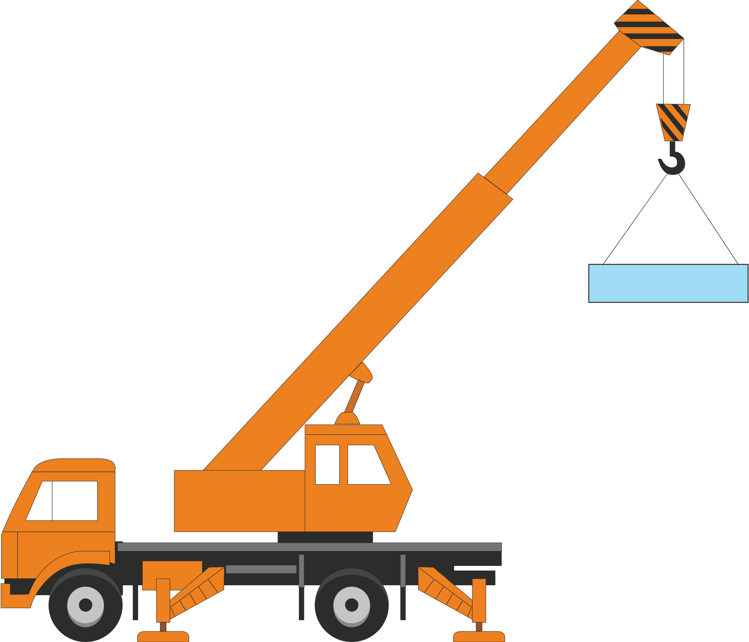 Crane clipart #3, Download drawings