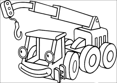 Crane coloring #3, Download drawings