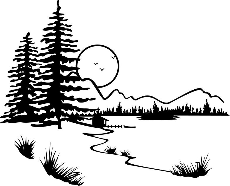Crater Lake clipart #3, Download drawings