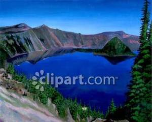 Crater Lake clipart #18, Download drawings