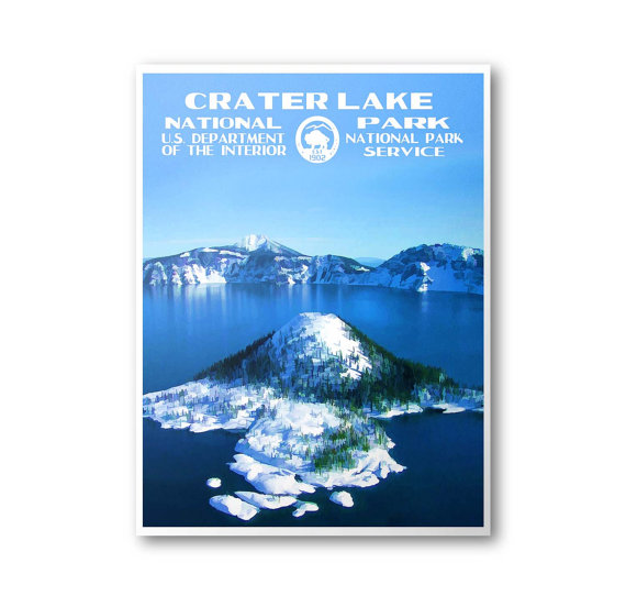 Crater Lake National Park clipart #20, Download drawings