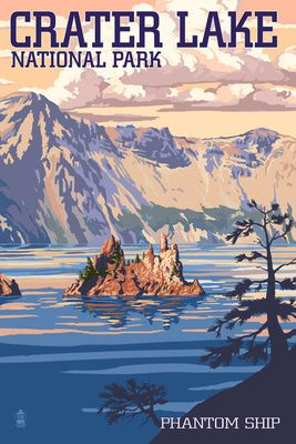 Crater Lake National Park clipart #18, Download drawings