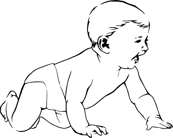 Crawling clipart #16, Download drawings