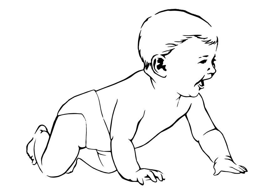 Crawling coloring #9, Download drawings