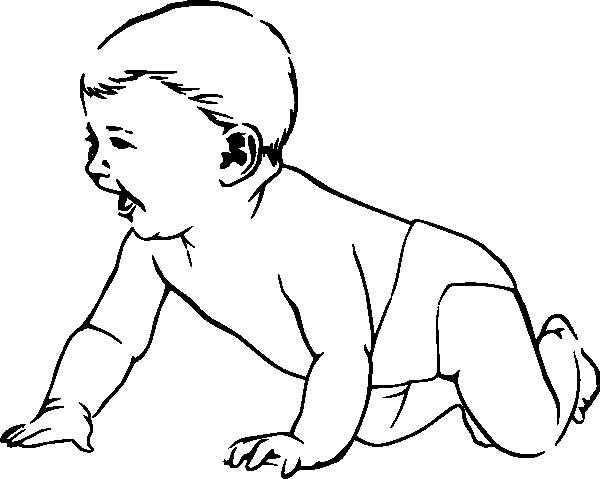 Crawling coloring #16, Download drawings