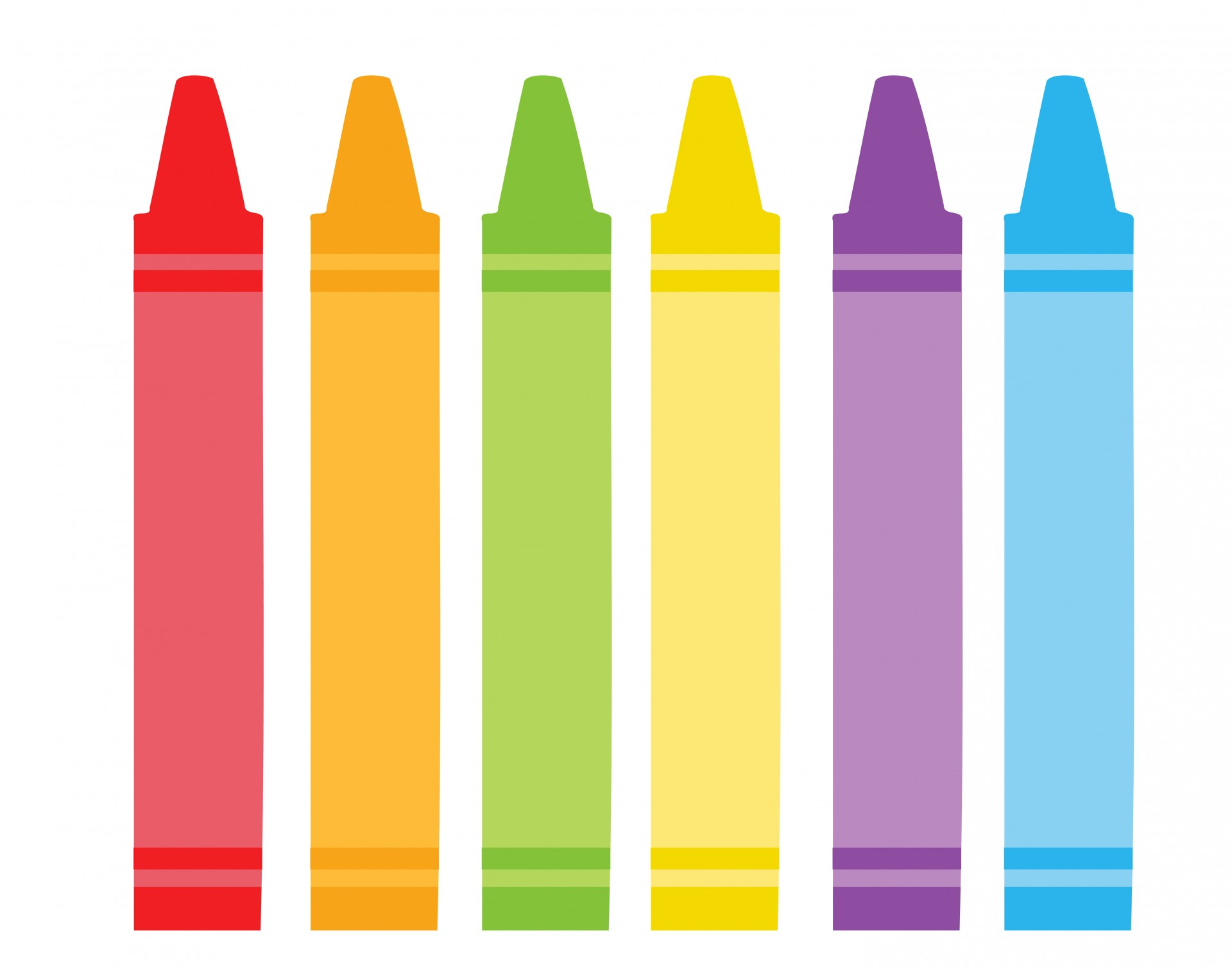 Crayon clipart #2, Download drawings