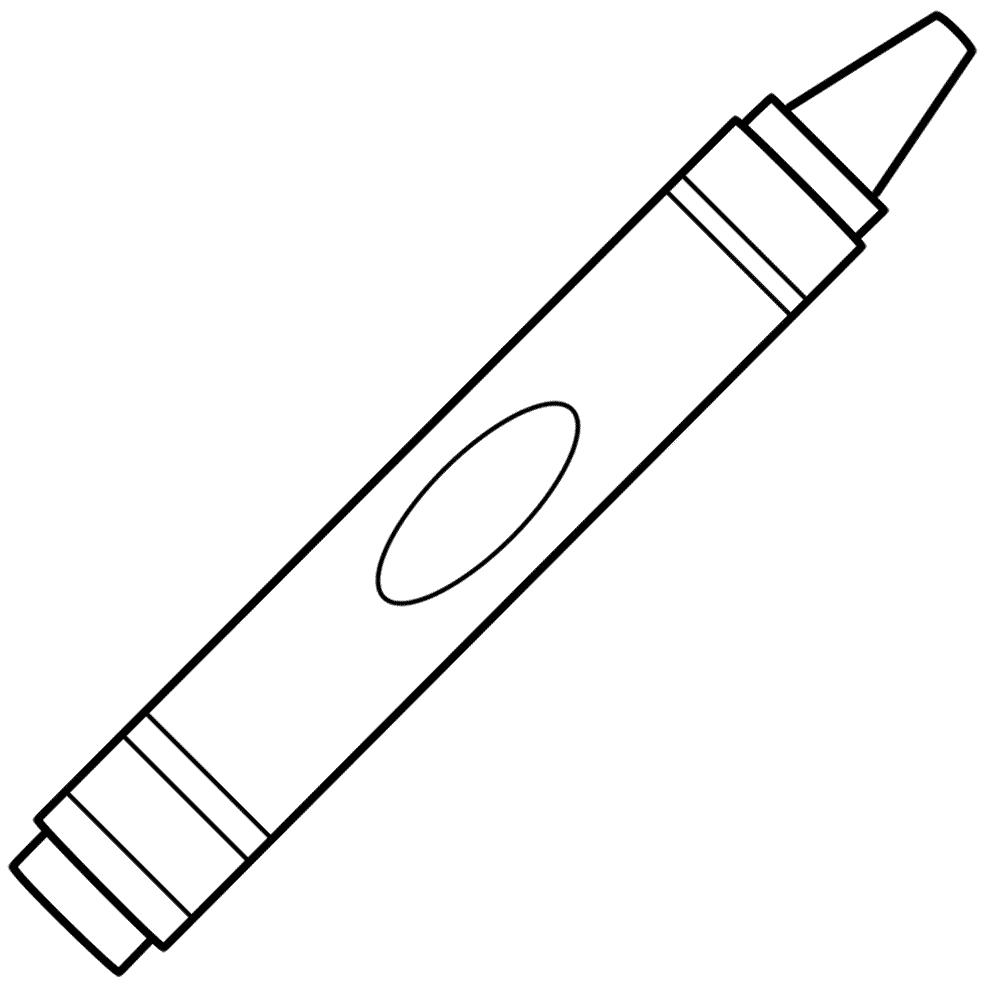 Crayon coloring #19, Download drawings