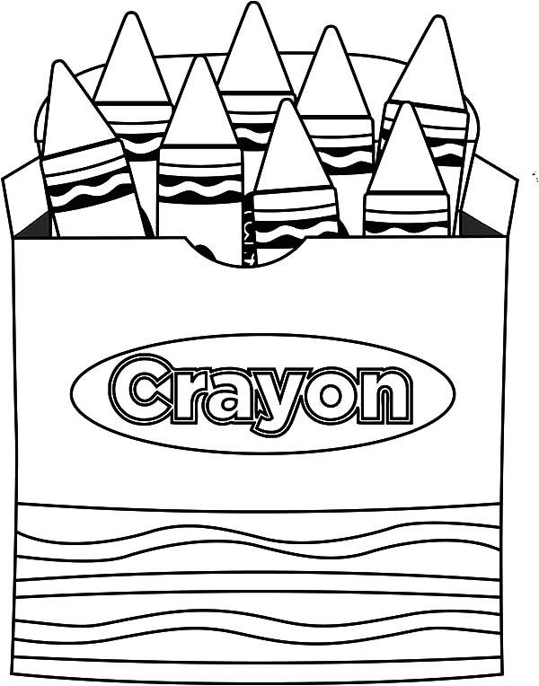 Crayon coloring #1, Download drawings