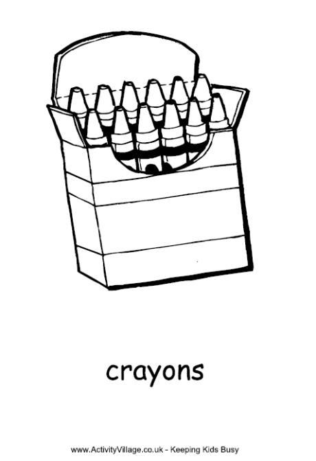 Crayon coloring #4, Download drawings