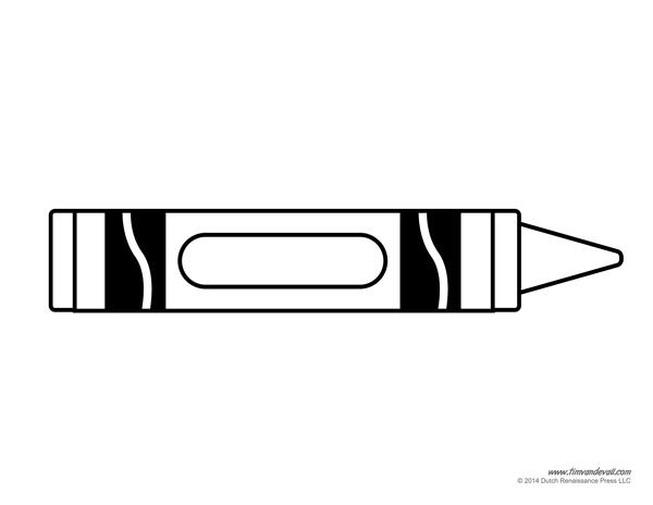 Crayon coloring #5, Download drawings
