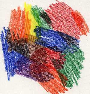 Crayon coloring #2, Download drawings