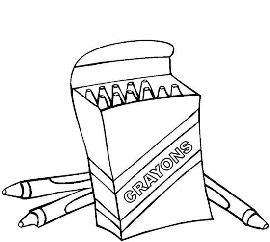 Crayon coloring #14, Download drawings