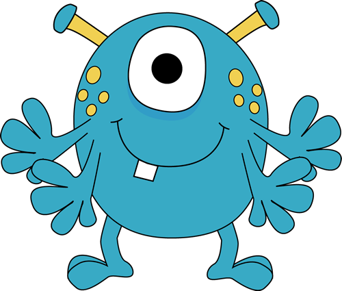 Monster clipart #20, Download drawings