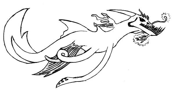 Creature coloring #1, Download drawings