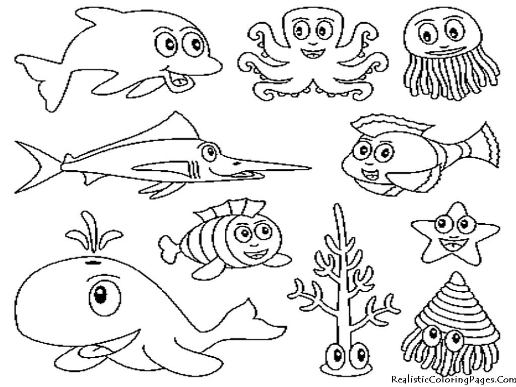 Creature coloring #10, Download drawings