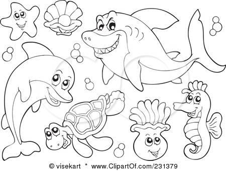 Creature coloring #19, Download drawings