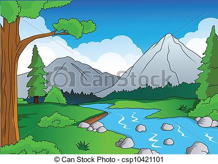 Creek clipart #13, Download drawings