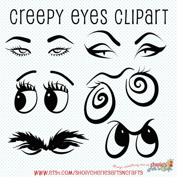 Creepy clipart #11, Download drawings