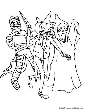 Creepy coloring #9, Download drawings