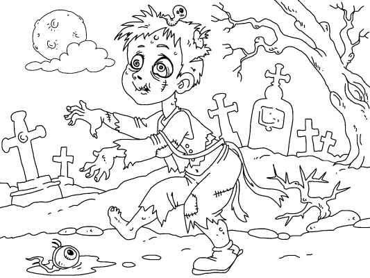 Creepy coloring #10, Download drawings