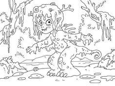 Creepy coloring #13, Download drawings