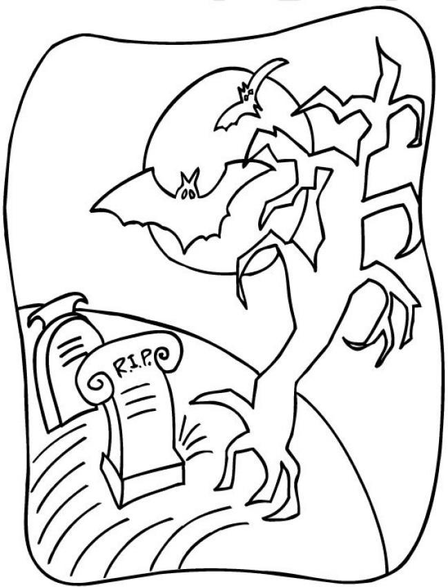 Creepy coloring #1, Download drawings