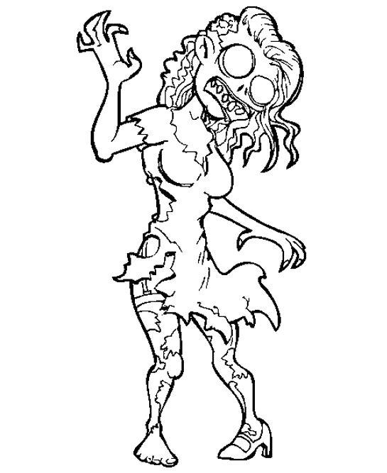 Creepy coloring #12, Download drawings