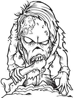 Creepy coloring #19, Download drawings
