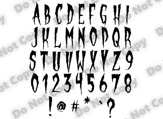 Creepy svg #9, Download drawings