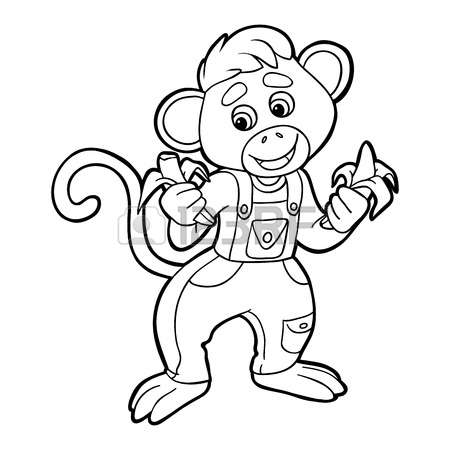 Crested Black Macaque coloring #14, Download drawings