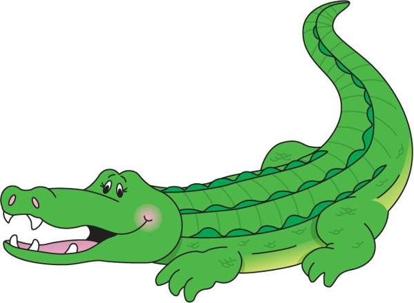 Crocodile clipart #2, Download drawings